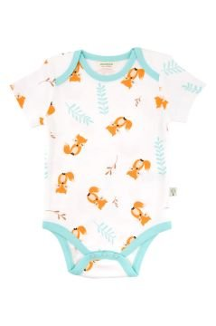 Organic Cotton Romper - Fox