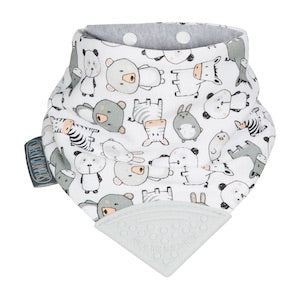 Cheeky Chompers Cotton Neckerchew - Panda Pals
