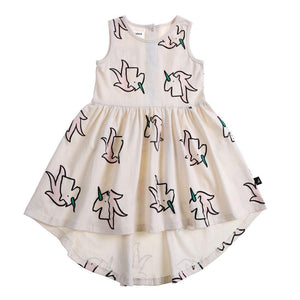 Anarkid Organic Cotton No Sleeve Dress - Unicorn