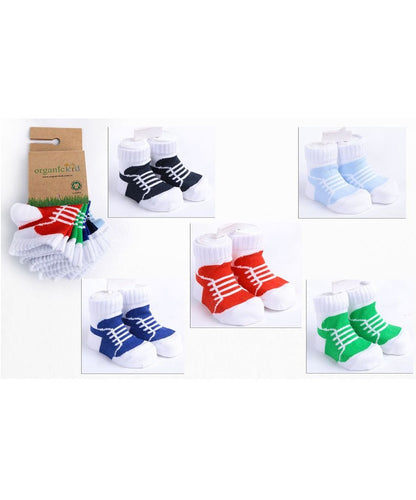 Organic Cotton Baby Sportive Socks 5 Pack