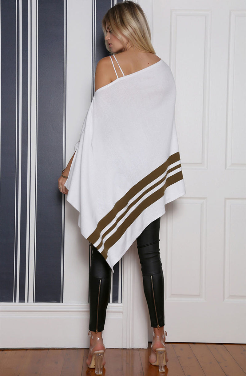 All Mine Poncho back