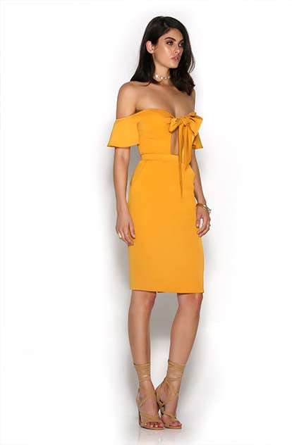 Second Chance Dress - Mango side