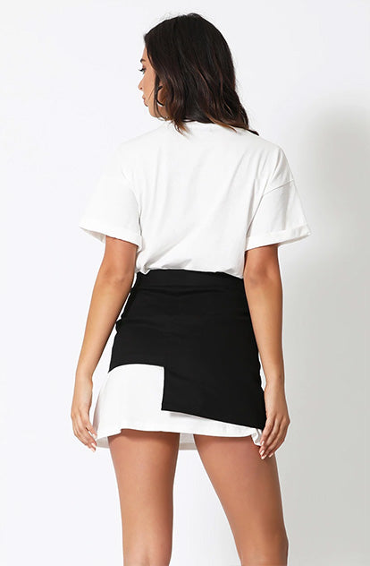 She-Is-Us Oversized Tee-shirt Dress