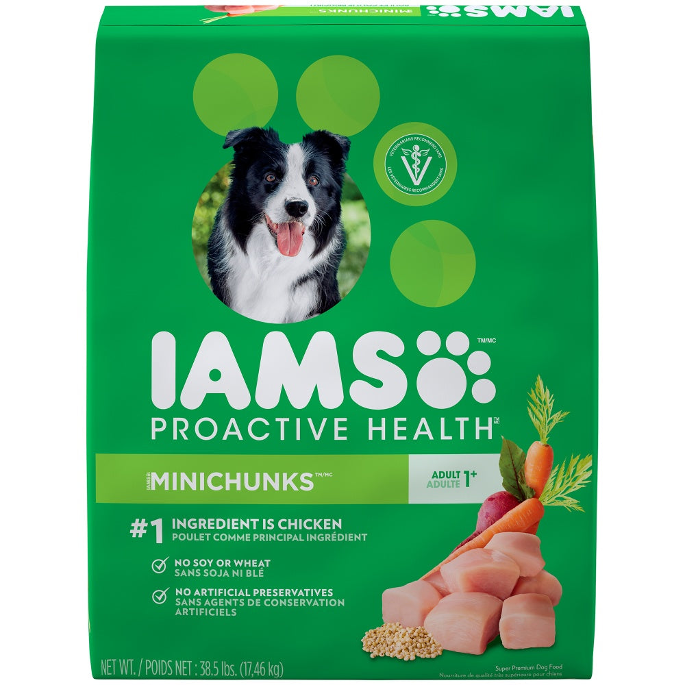 Iams ProActive Health Adult MiniChunks Dry Dog Food