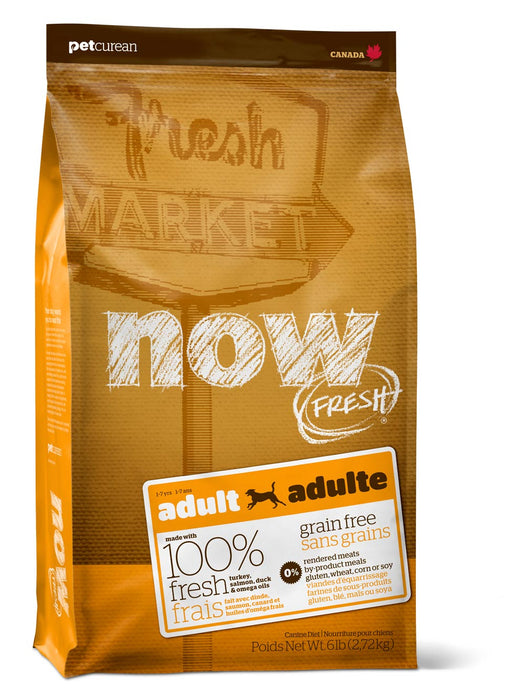 Petcurean Now! Fresh Grain Free Adult Dry Dog Food