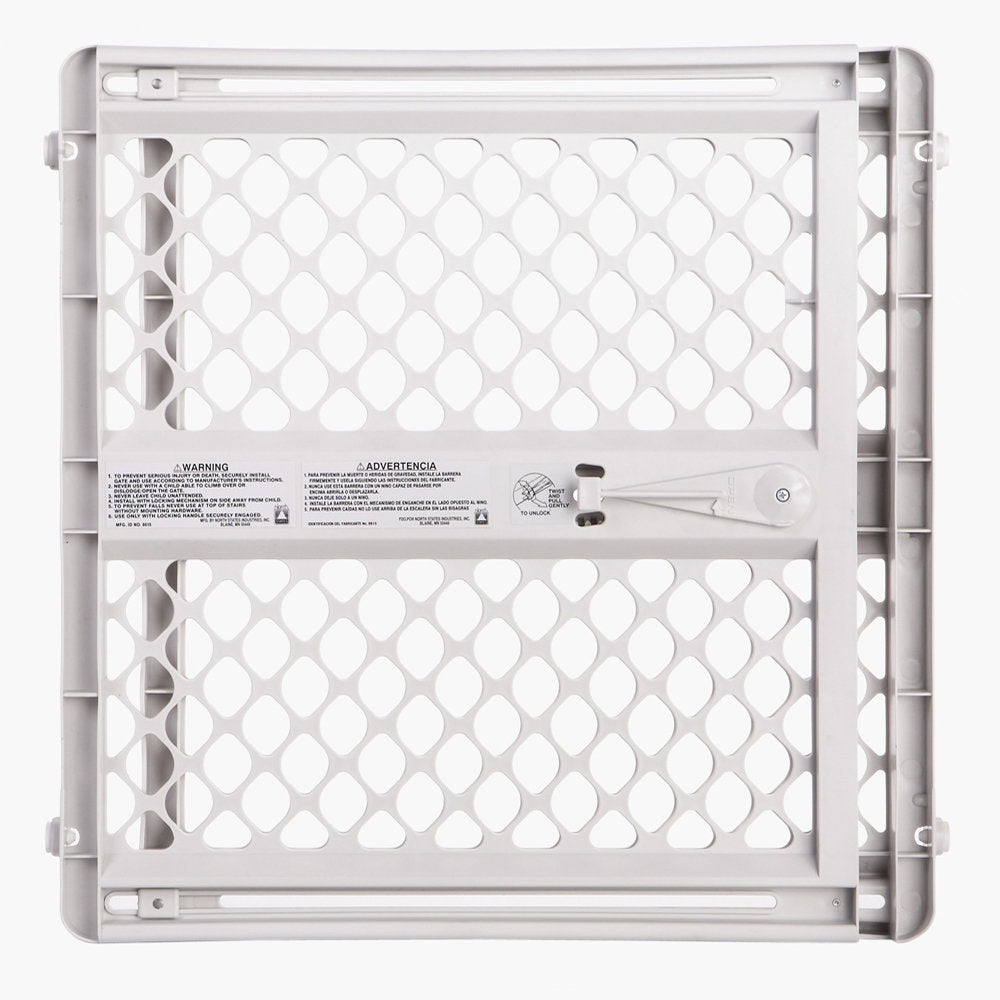 North States III Pressure Mounted Pet Gate