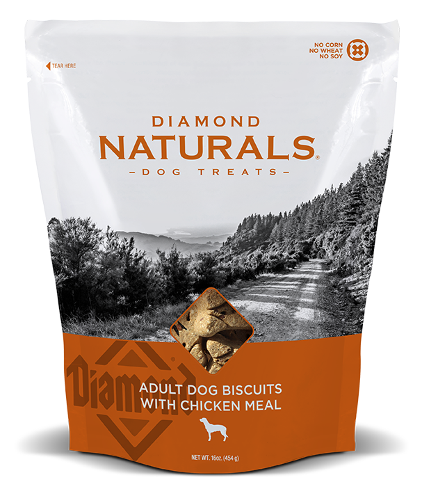 Diamond Naturals Adult Dog Biscuits with Chicken Meal Dog Treats