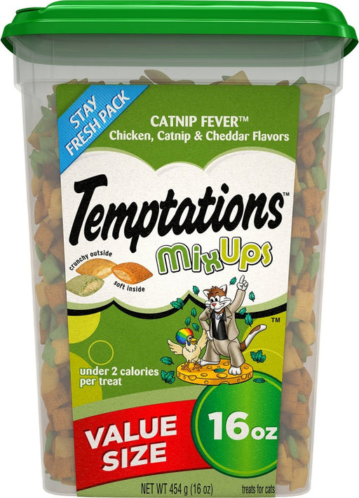 Temptations Mixups Catnip Fever Flavor Cat Treats