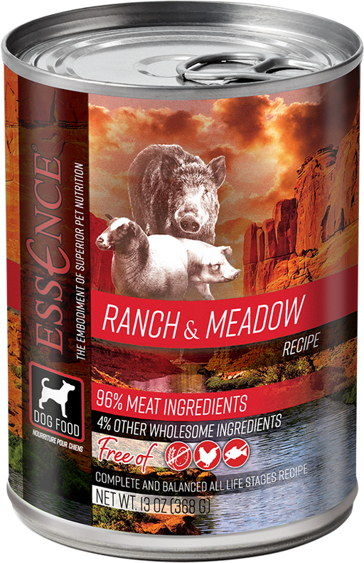 Essence Grain Ranch & Meadow Recipe Canned Dog Food
