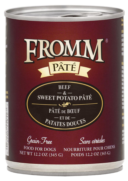 Fromm Beef & Sweet Potato Pâté Canned Dog Food