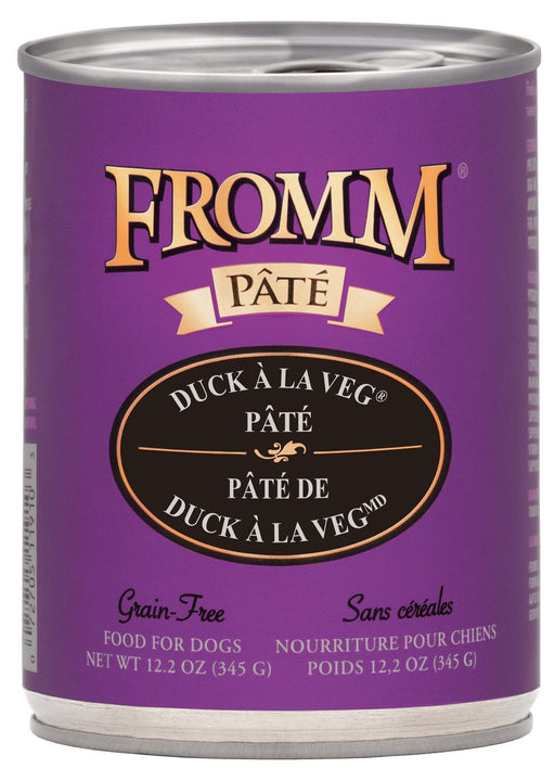 Fromm Duck À La Veg Pâté Canned Dog Food