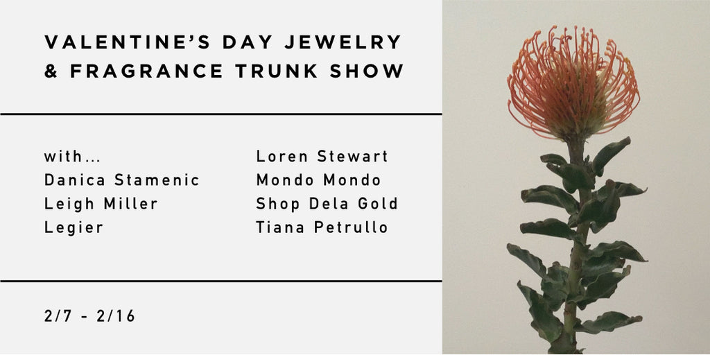 Valentine's Day Jewelry & Fragrance Trunk Show