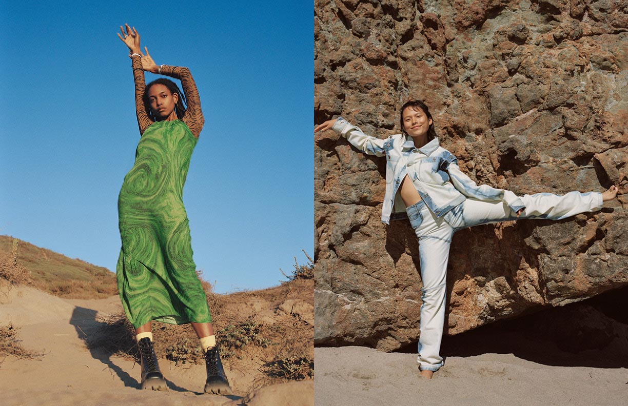 LCD Fall 2020 campaign photographed by Daria Kobayashi Ritch and styled by Ashley Furival.