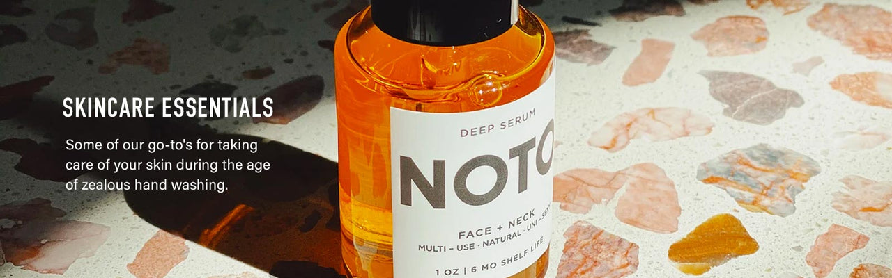 Skincare Essentials - photo of Noto Deep Serum.