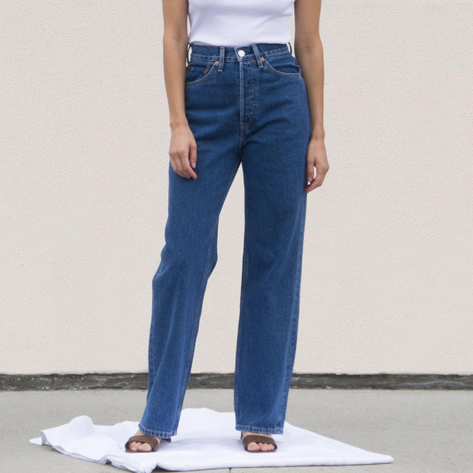 Re/DONE - 30s Ladies Jean, front view, available at LCD.