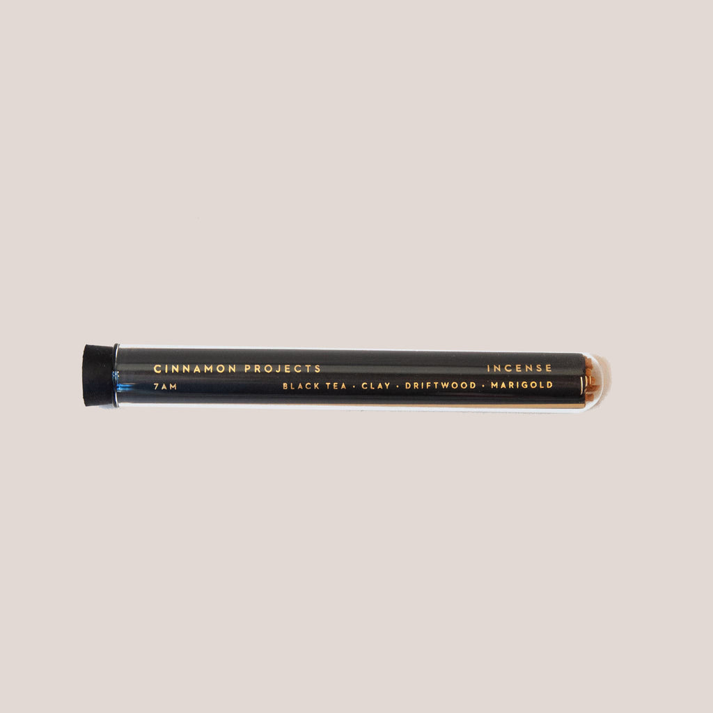 Cinnamon Projects - 7AM Incense, available at LCD.