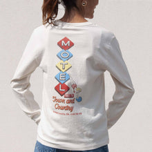 Load image into Gallery viewer, Re/DONE - 90s Long Sleeve Motel Tee, back view, available at LCD.