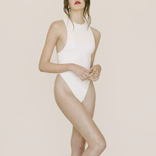 Load image into Gallery viewer, Anna Maria Blanco - Elena Swimsuit in Mother of Pearl, front view, available at LCD.