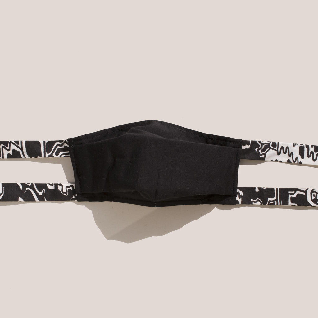 Rachel Comey - Alice Tie Mask - Black.