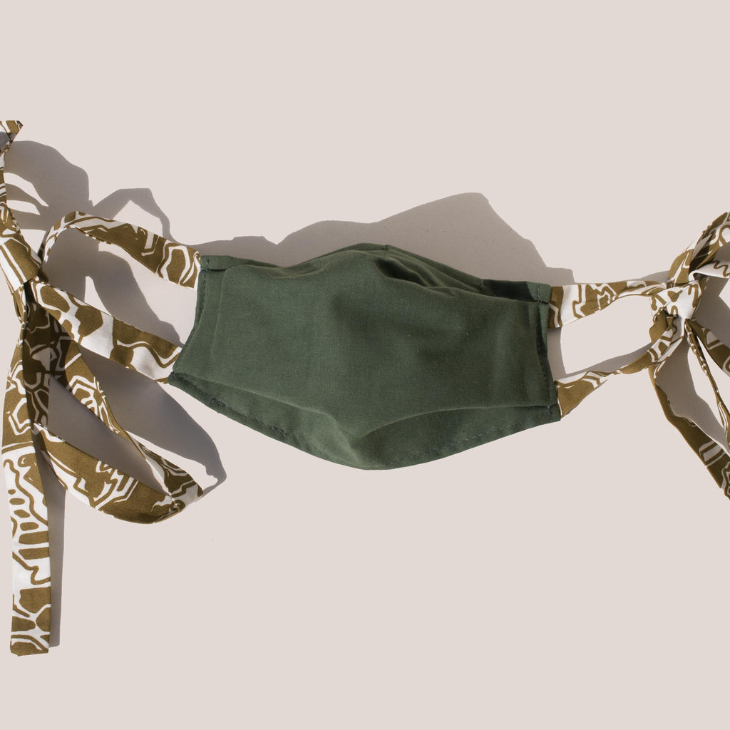 Rachel Comey - Alice Tie Mask - Green.