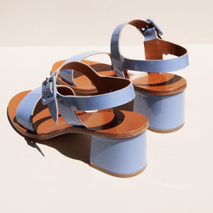 LoQ - Altea Sandal - Mar, rear view, available at LCD.