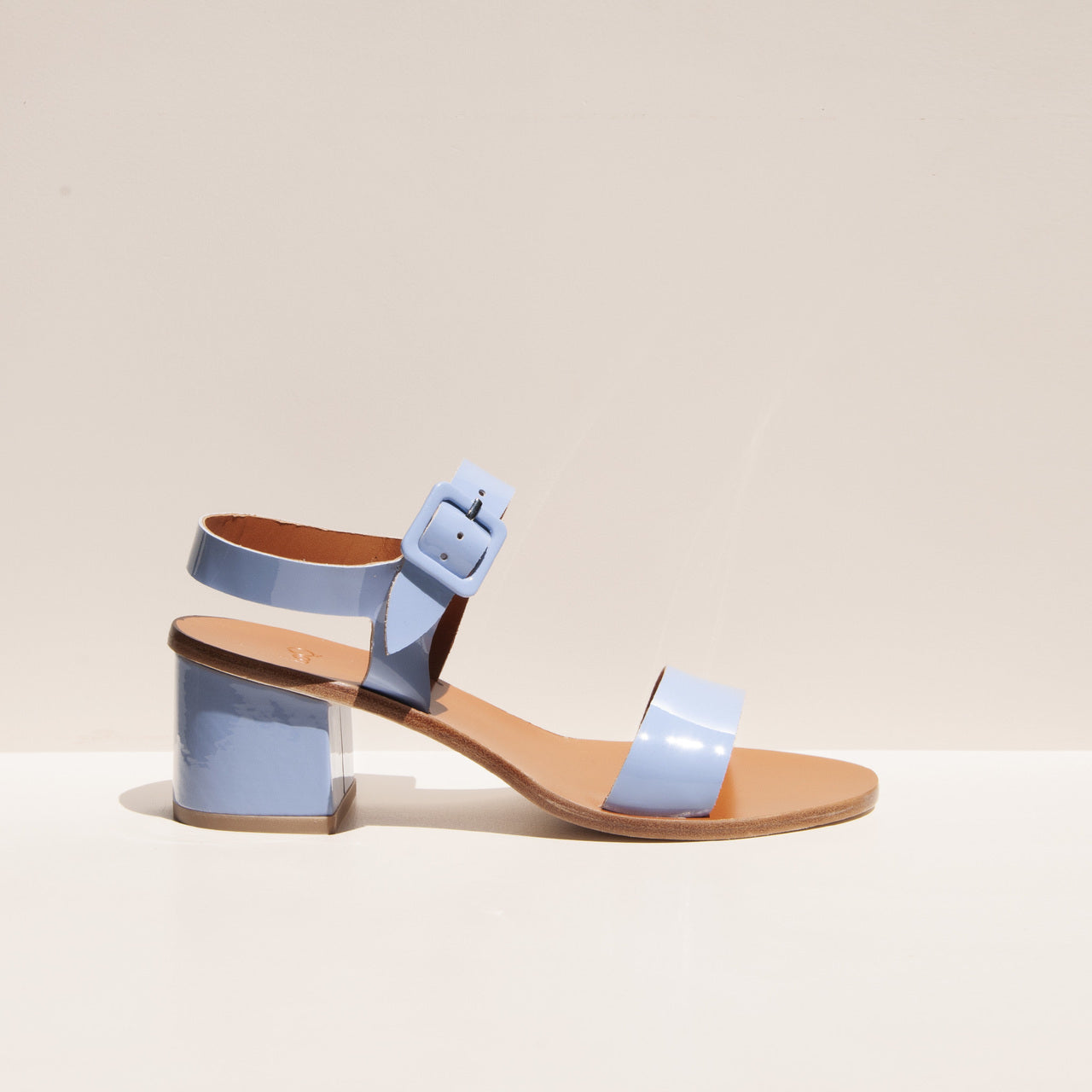 LoQ - Altea Sandal - Mar, side view, available at LCD.