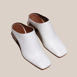Rejina Pyo - Andi Mule, angled mule, available at LCD.