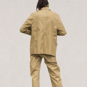 Low Classic - Armhole Stitch Jacket, back view, available at LCD.