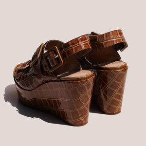 Maryam Nassir Zadeh - Aurelie Wedge, back view, available at LCD.