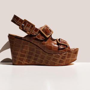 Maryam Nassir Zadeh - Aurelie Wedge, side view, available at LCD.