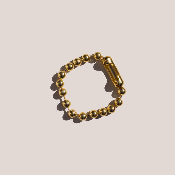 Ambush - Ball Chain Bracelet in Gold.