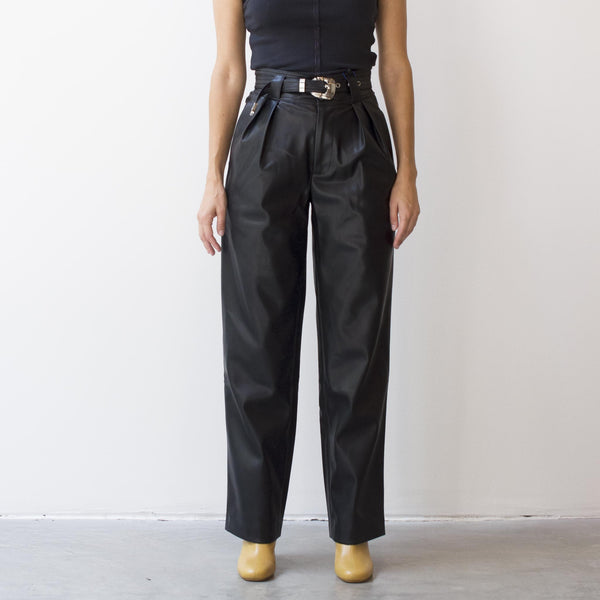 Simon Miller - Barr Sack Waist Trouser, front view, available at LCD.
