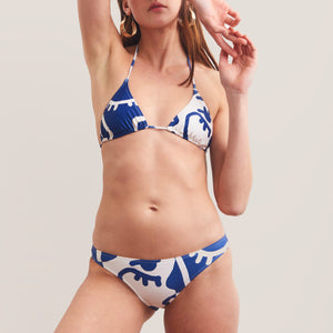 Bower Swimwear - Base Bikini Set - Blue Mood, front view, available at LCD.