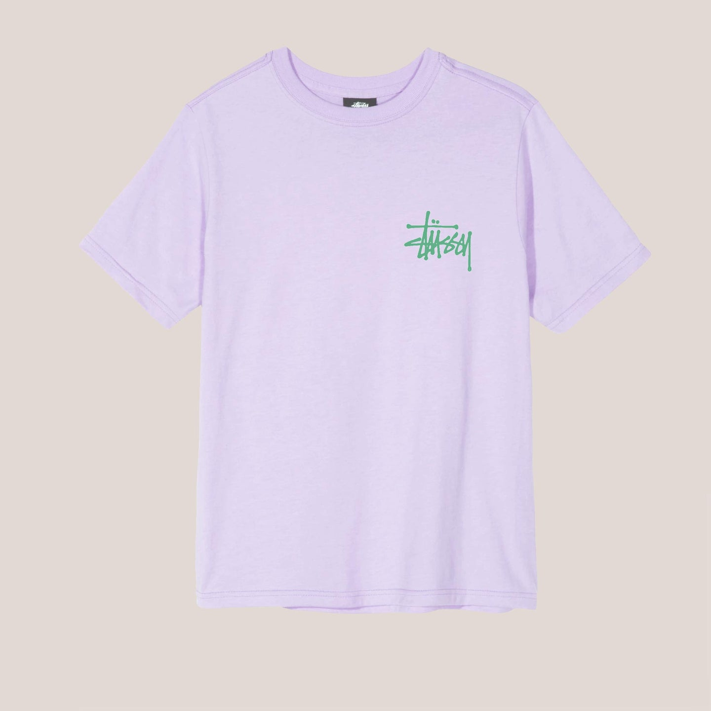 Stussy - Basic Stussy Pigment Dyed Tee, available at LCD.