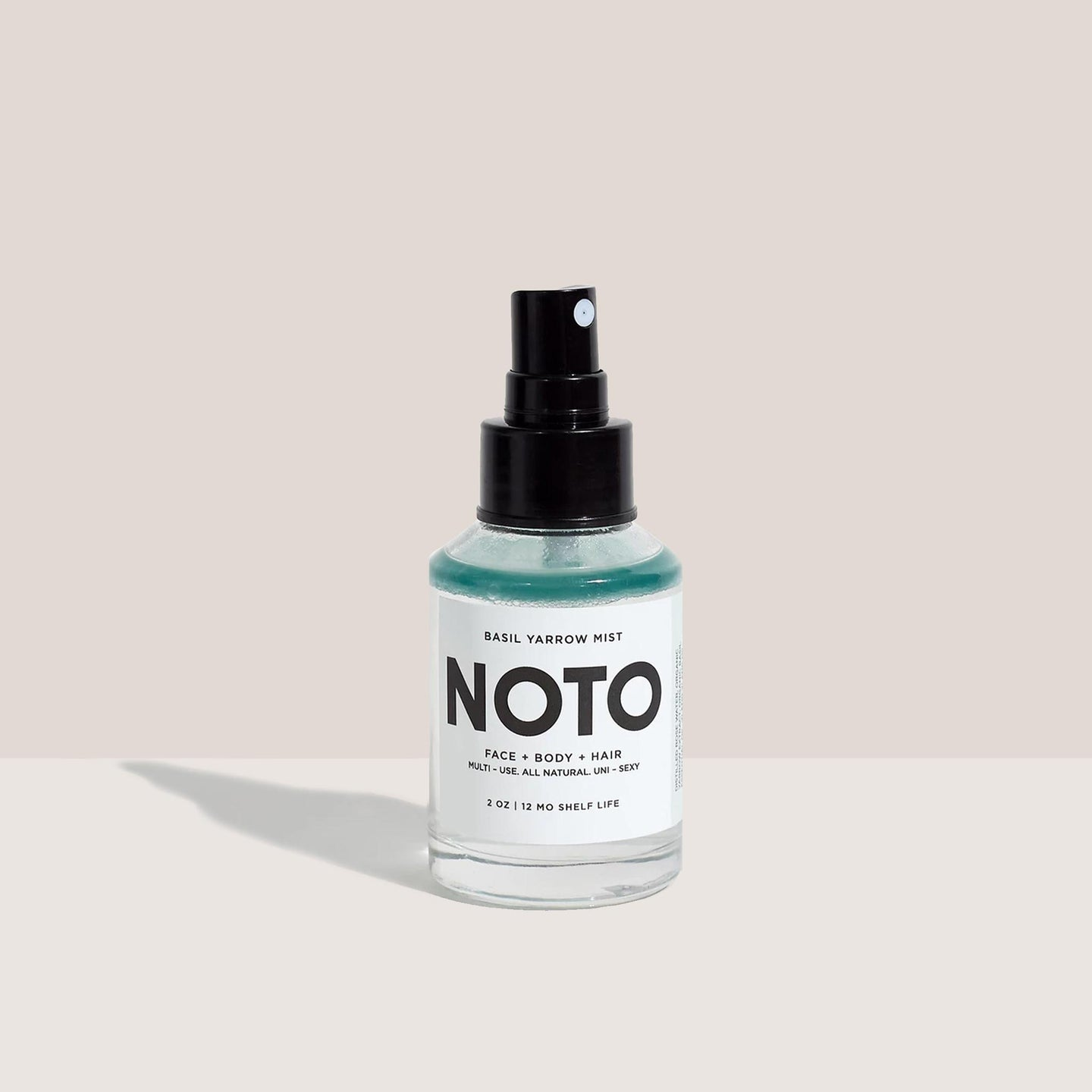 Noto Botanics - Basil Yarrow Mist, available at LCD.