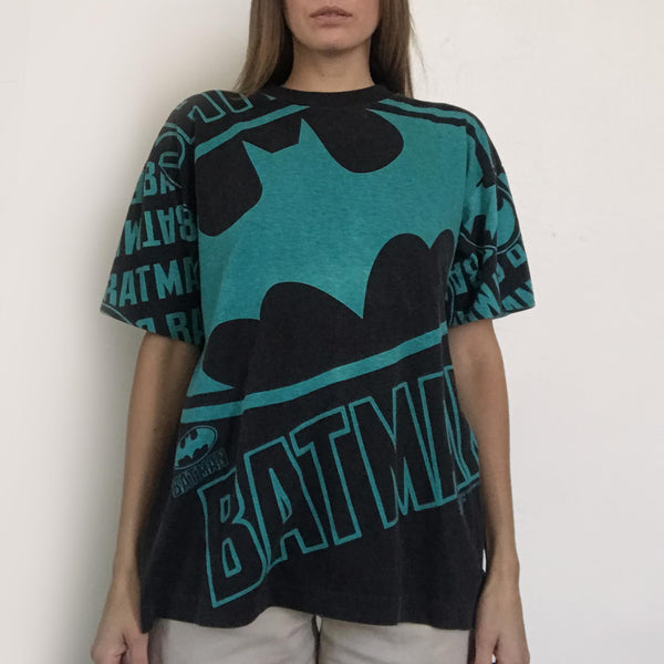 Procell Vintage - Vintage Batman Bat Signal Tee, front view, available at LCD.