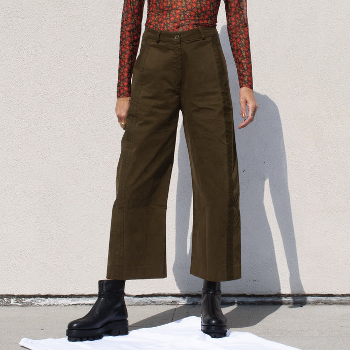 Henrik Vibskov - Bean Pants, front view, available at LCD.