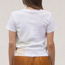 Load image into Gallery viewer, Collina Strada - Bellychain Tee - Watercolor, back view, available at LCD.