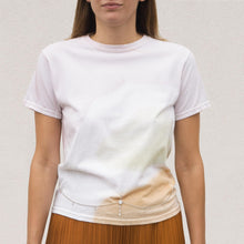 Load image into Gallery viewer, Collina Strada - Bellychain Tee - Watercolor, front view, available at LCD.