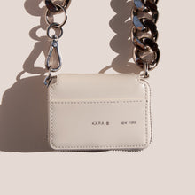 Load image into Gallery viewer, Kara - Bike Wallet - White, available at LCD.