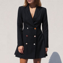 Load image into Gallery viewer, Rotate by Birger Christensen - Blazer Dress, front view, available at LCD.