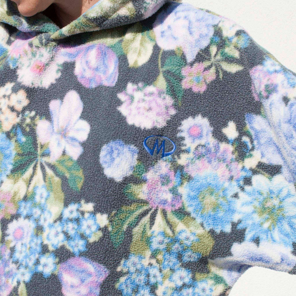 Martine Rose - Bongo Batwing Hoodie, detail view.