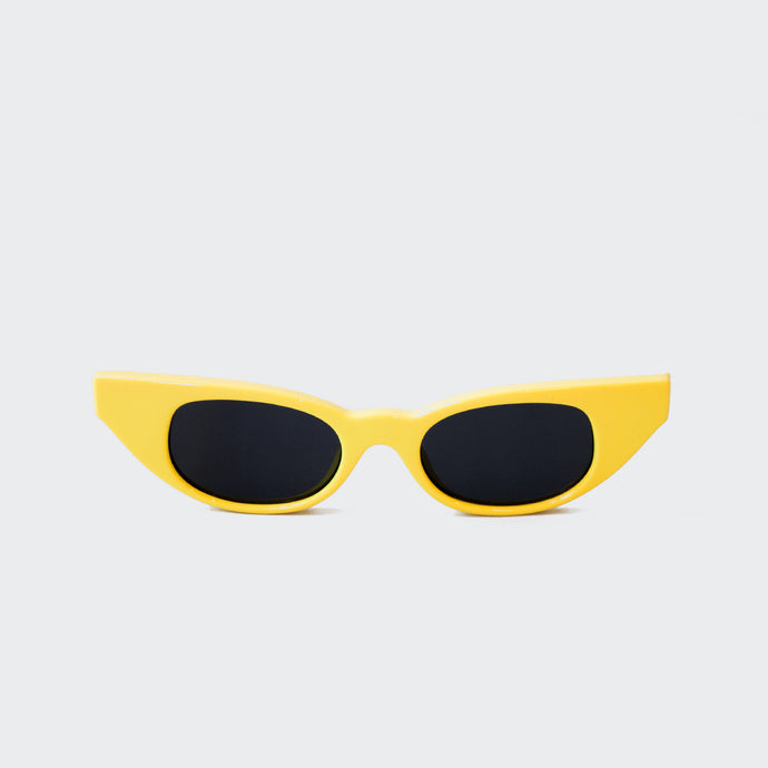 Le Specs x Adam Selman - The Breaker Sunglasses - Yellow, available at LCD