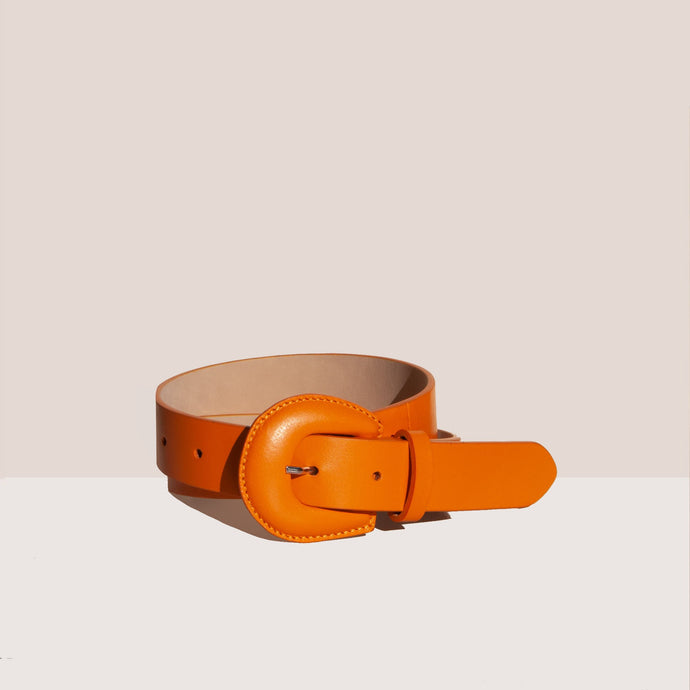 Maryam Nassir Zadeh - Bruno Belt, front view, available at LCD.