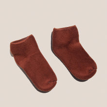 Load image into Gallery viewer, Baserange - Buckle Ankle Socks in Tove Brown, available at LCD.