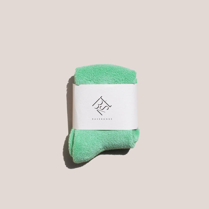 Baserange - Buckle Ankle Socks - Mint, available at LCD.