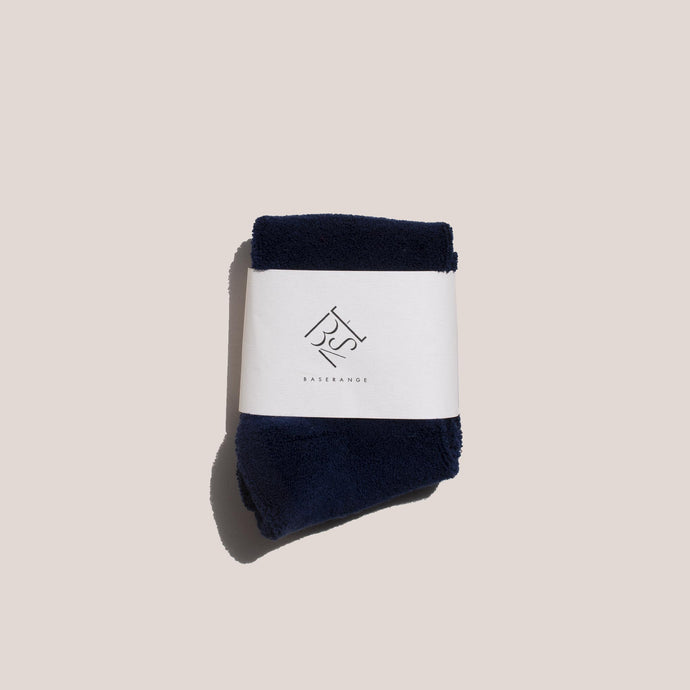 Baserange - Buckle Ankle Socks - Navy Blue, available at LCD.