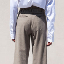 Load image into Gallery viewer, Delada - Button Front Wide Leg Trouser, back view, available at LCD.