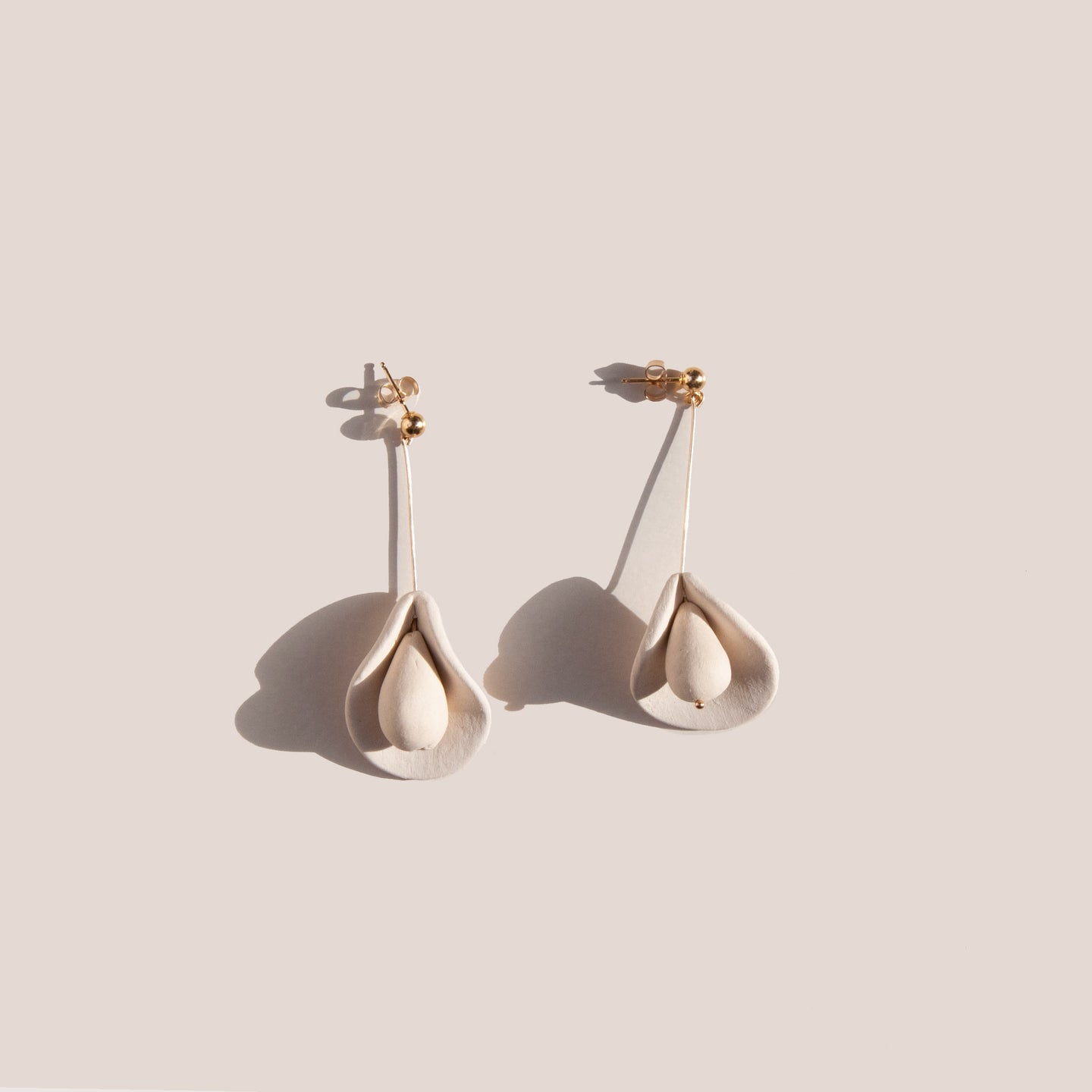 Eny Lee Parker - Calla Small Earrings, available at LCD.