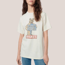 Load image into Gallery viewer, Re/DONE - 80s Oversized Campus Wheel Tee, front view, available at LCD.